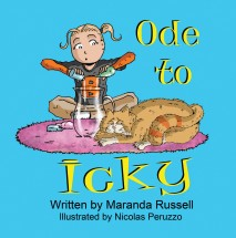 Ode to Icky by Maranda Russell - Illustrations by Nicolas Peruzzo - Book cover - Children's Book Review on Mungai and the Goa Constrictor