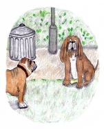 An image from A Dog Called Dog - Children's Book of the Week on mungaiandthegoaconstrctor.me