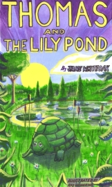 Thomas and the Lily Pond - Book cover: Children's Book Review on Mungai and the Goa Constrictor