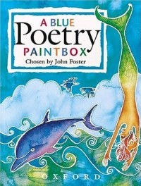 A Blue Poetry Paintbox Book Cover featured on mungaiandthegoaconstrictor.me