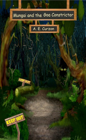Mungai and the Goa Constrictor by Amelia E Curzon - Book Cover
