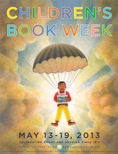 Children's Book Week 2013 poster featured on Mungai and the Goa Constrictor
