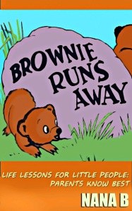 Brownie Runs Away Book Cover