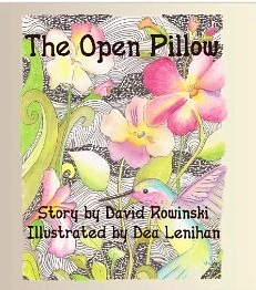 The Open Pillow Book Cover