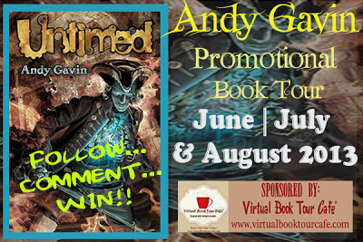 Untimed by Andy Gavin - Promotional Poster