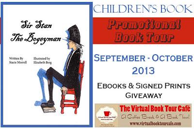 Sir Stan the Bogeyman Book Tour logo