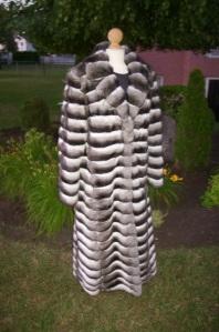 Chinchilla coat for sale on eBay- Farm Raised Genuine (Empress Breeders Cooperative) Chinchilla Lanigera