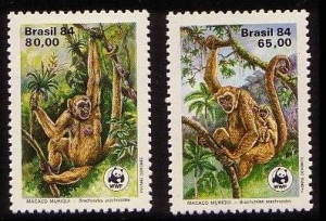 Northern muriqui stamps