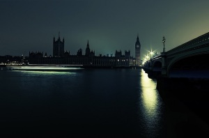 Houses of Parliament, London - Earth Hour