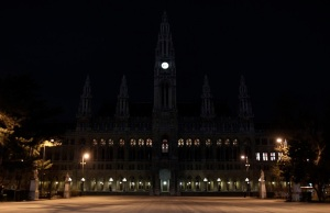 Vienna's City Hall - Earth Hour