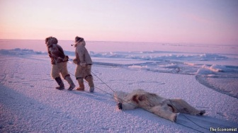 Inuit hunters via te Economist