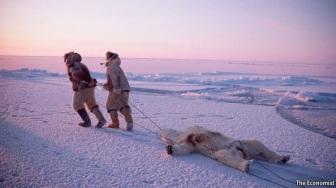 Inuit hunters via te Economist