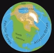 Polar bear distribution- Map courtesy of National Geographic